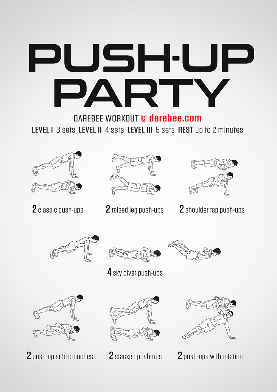 pushup-party-workout