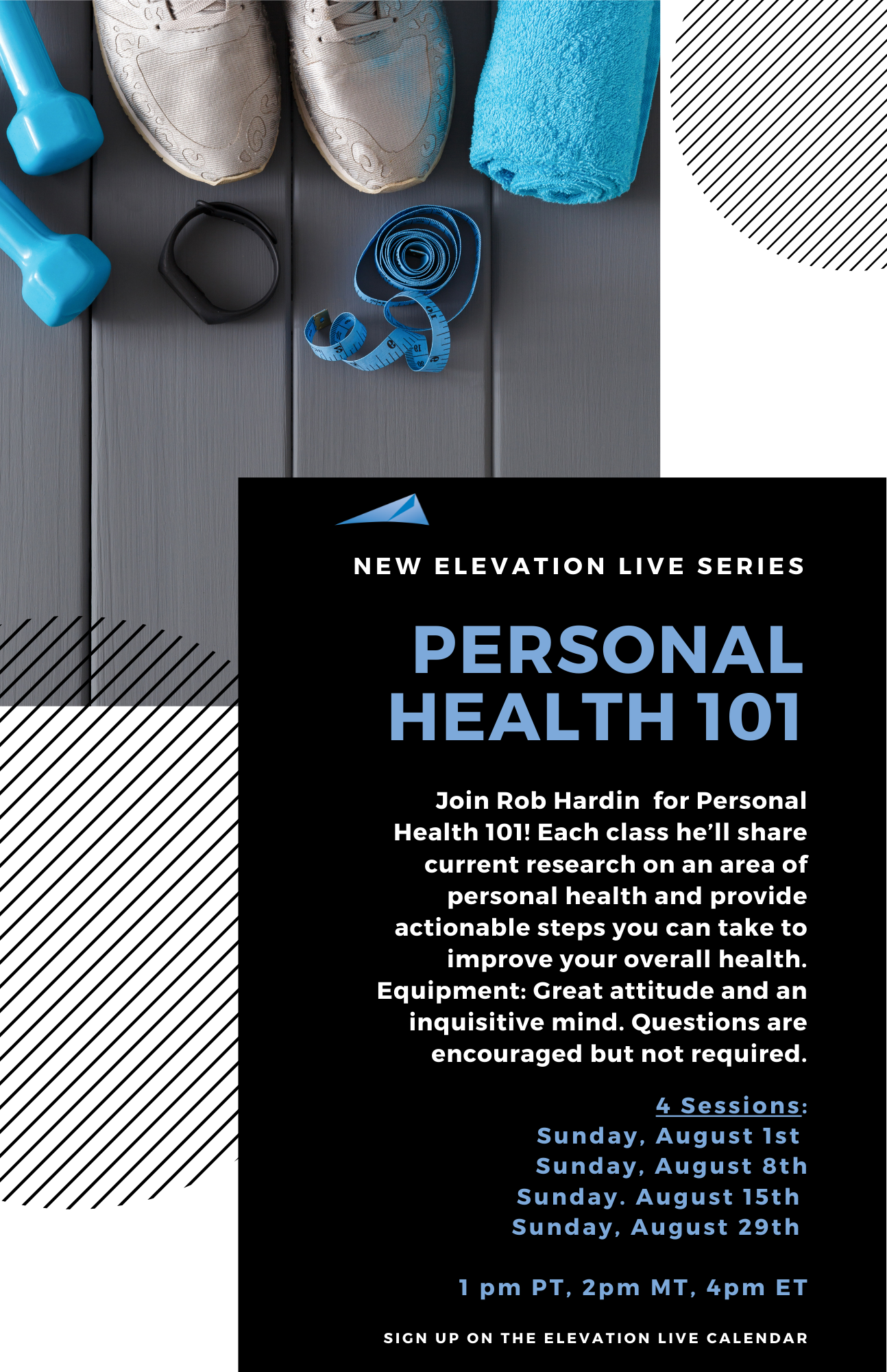 August-New-Elevation-Live-Series-Personal-Health-101
