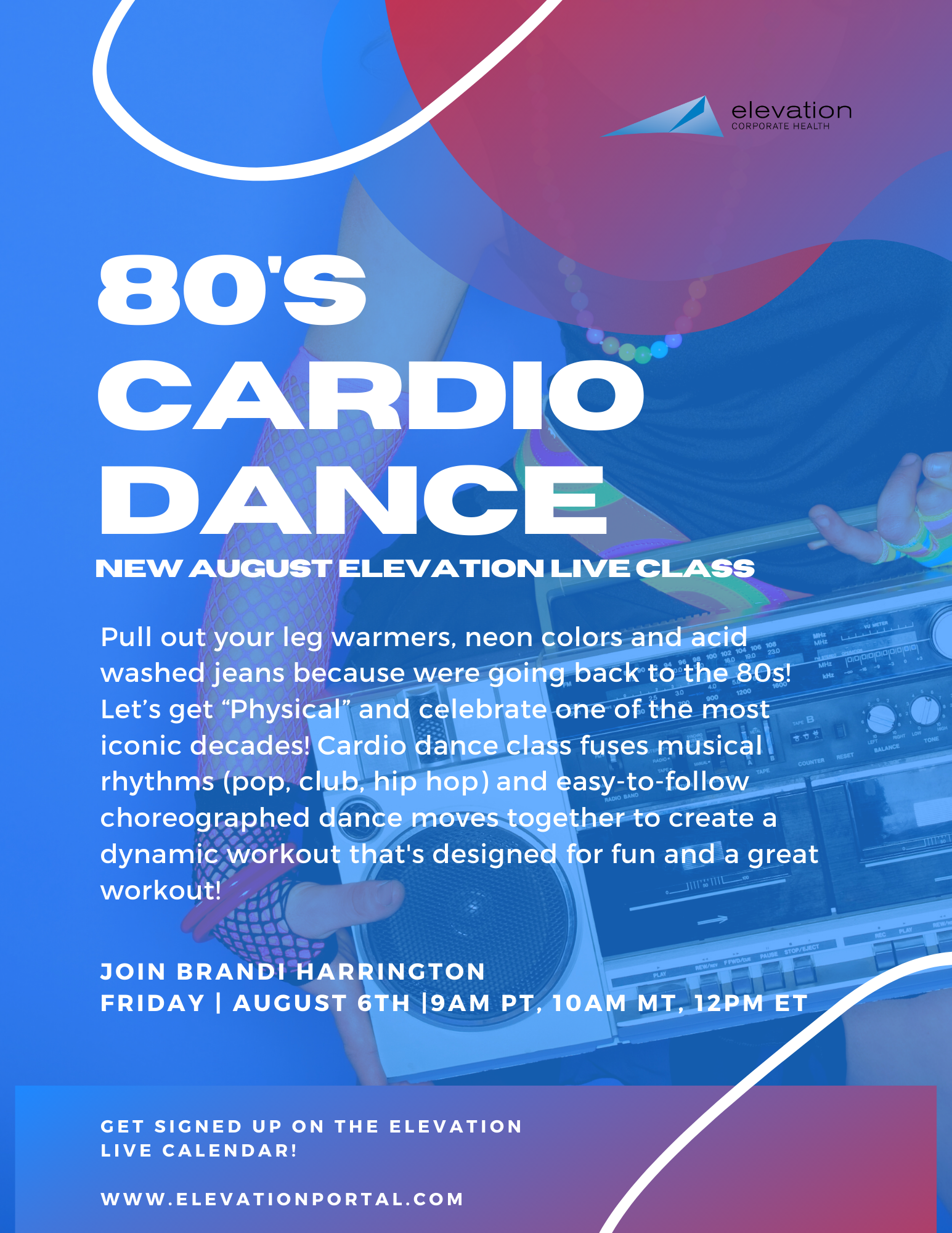 New-Elevation-Live-Class-August